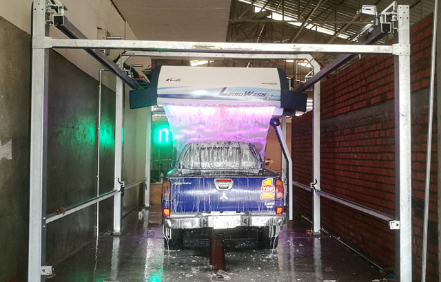 Cambodia Top 1 Oil Leisuwash ​Automatic Car Wash System