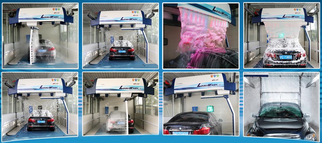 Leisuwash 360 Car Wash Equipment Leisuwash 360 Touchless
