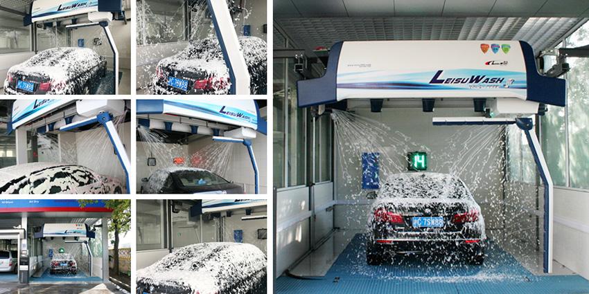 Foam Spray Car Wash >> Leisuwash 360 Car Wash Equipment - Leisuwash 360 Touchless