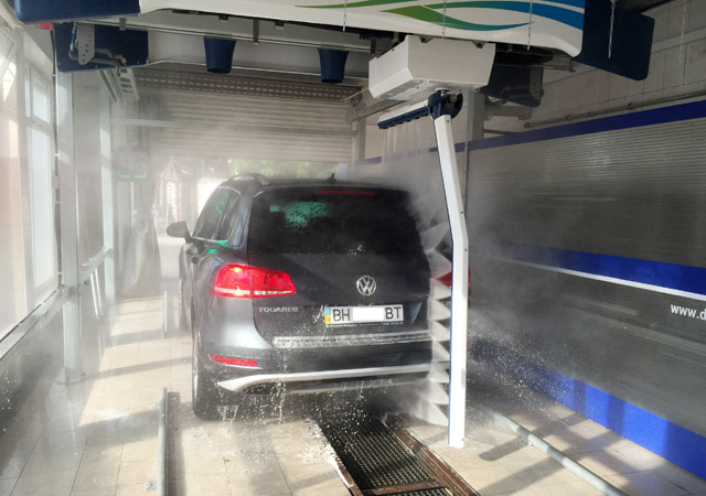 car washing machine for business cost