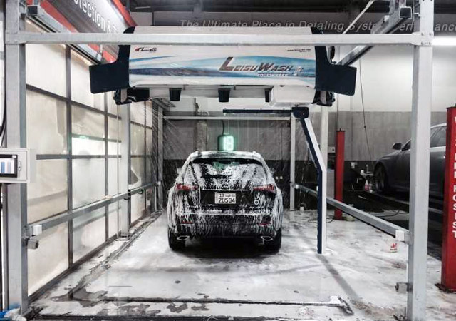 Leisuwash 360 Best Car Wash Machine In Kuwait Q Design Auto Center