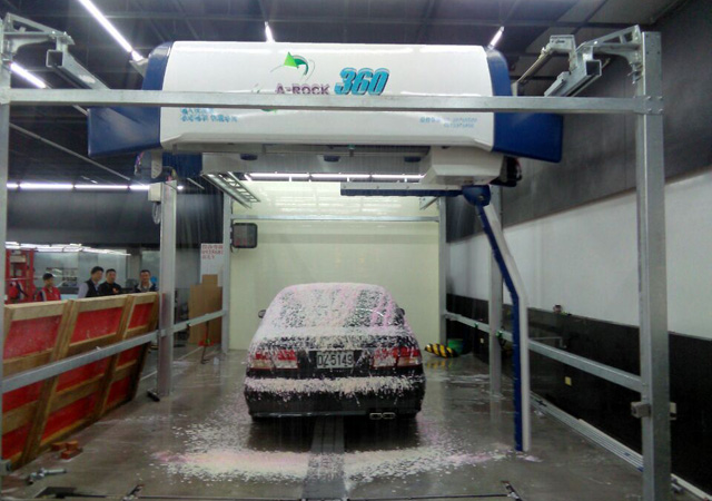 automatic car wash machine cost price