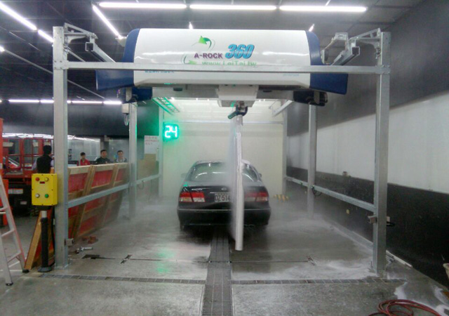 automatic car wash machine cost