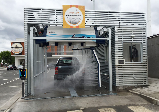 cost of car wash machine automated