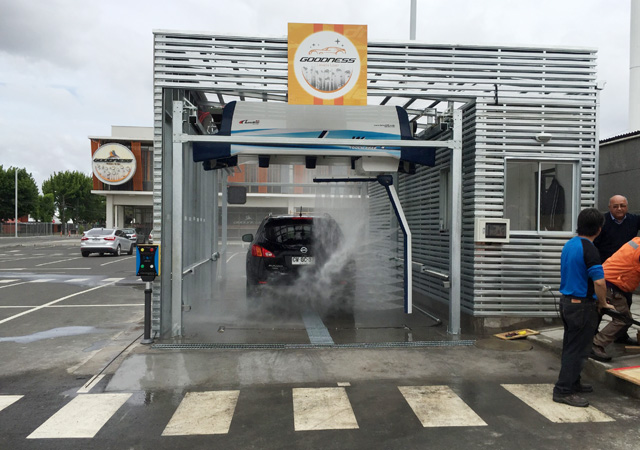 cost of car wash machine touchfree