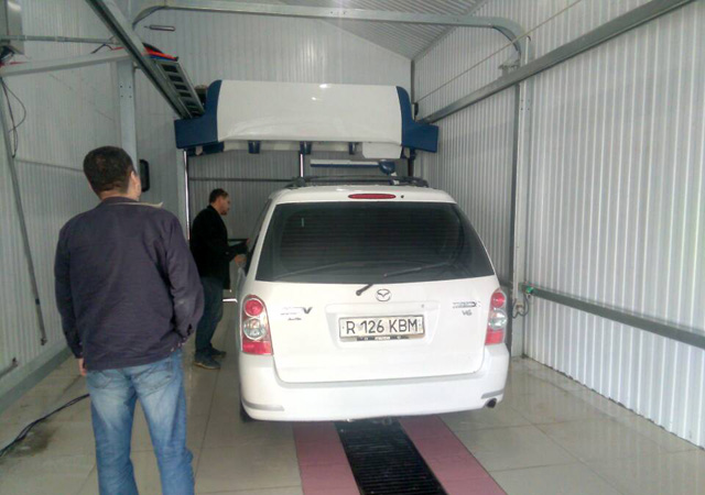 fully automatic car washing machine cost