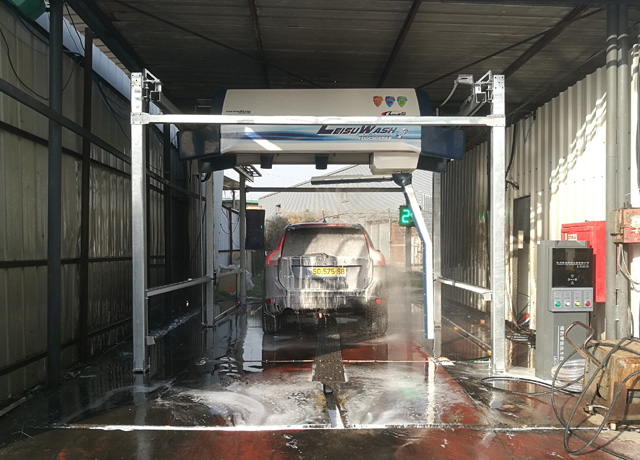 automatic car wash system touchless