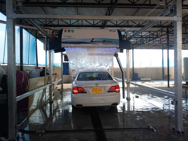 car wash systems brushless